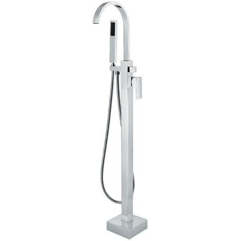 "main image of ""Miscelatore per vasca freestanding in ottone cromato - Sirius"""
