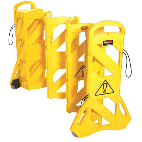 """main image of """"Miscellaneous MISBARRIER1 9S11 Portable Mobile Barrier Yellow"""""""