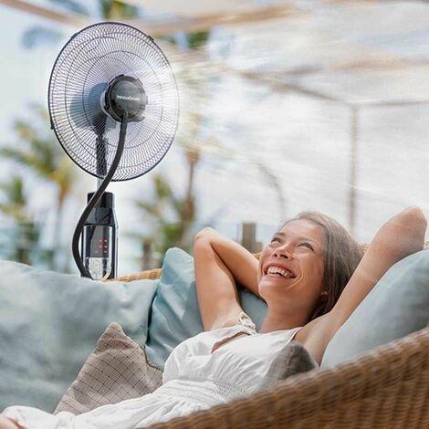 MISTING FAN : Ventilateur Brumisateur sur Pied avec Télécommande