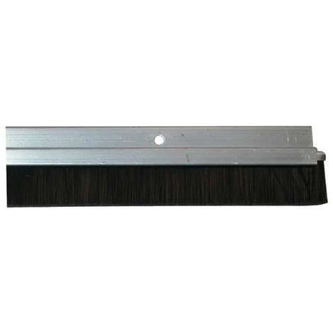 MISTRAL - Bas de porte à visser - aluminium brossé - 93 cm