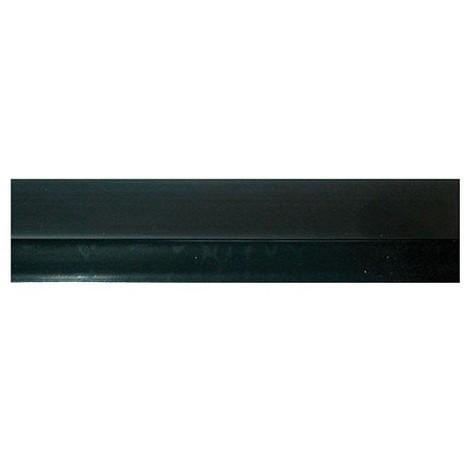 MISTRAL - Bas de porte adhésif rigide PVC + bavette - L : 100 cm - marron