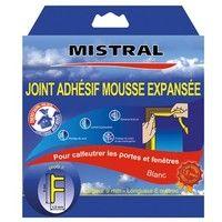 MISTRAL - Joint isolation phonique et thermique 6m - blanc