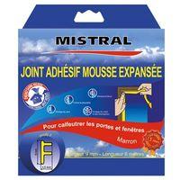 MISTRAL - Joint isolation phonique et thermique 6m - marron