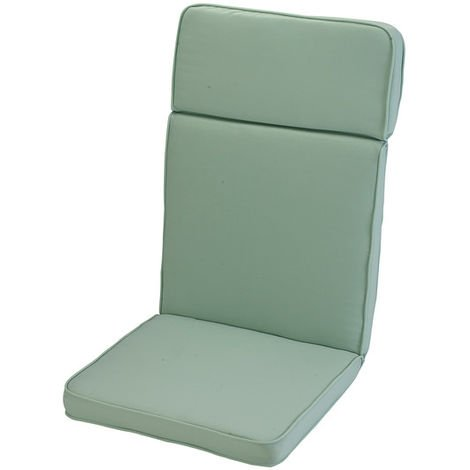 Misty Jade High Recliner Cushion Outdoor Garden Furniture Cushion