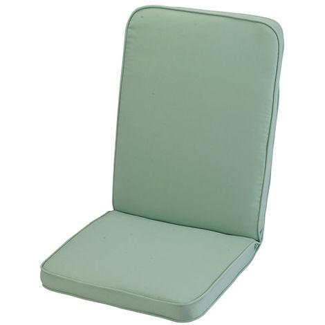 "main image of ""Misty Jade Low Recliner Cushion Outdoor Garden Furniture Cushion"""