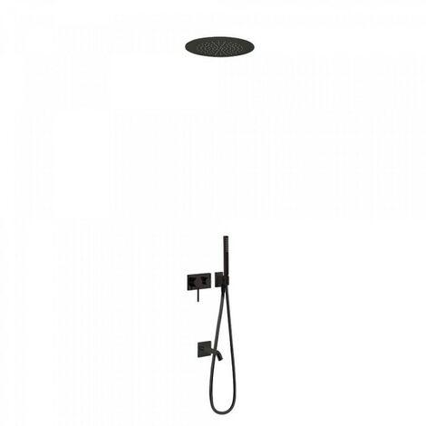Mitigeur à encastrer 3V - TRES 21027311NM Noir Mat