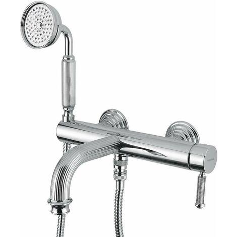 Mitigeur bain-douche apparent avec douchette bugnatese 8502