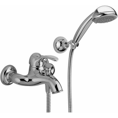 Mitigeur bain-douche avec garniture de duche Paffoni Flavia FA024