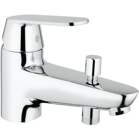 Mitigeur bain/douche monotrou Bauedge - Chromé