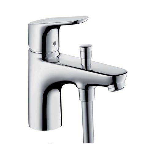 Mitigeur bain/douche monotrou Hansgrohe Focus - Chromé