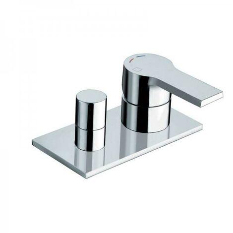 Mitigeur bain douche seul sur gorge Chrome OMEGA - CRISTINA ONDYNA OG12951