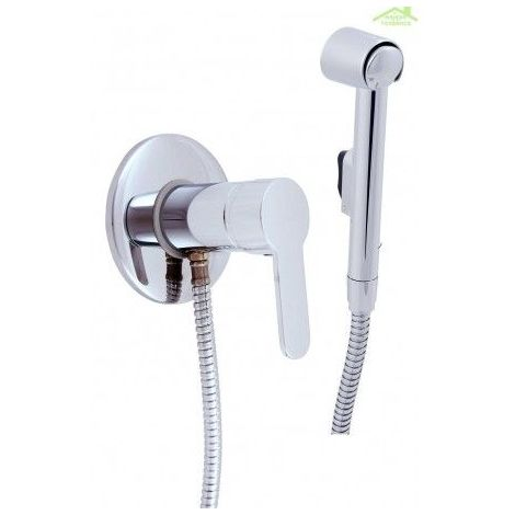 Mitigeur bidet, toilettes encastrable ZAMBEZE avec douchette