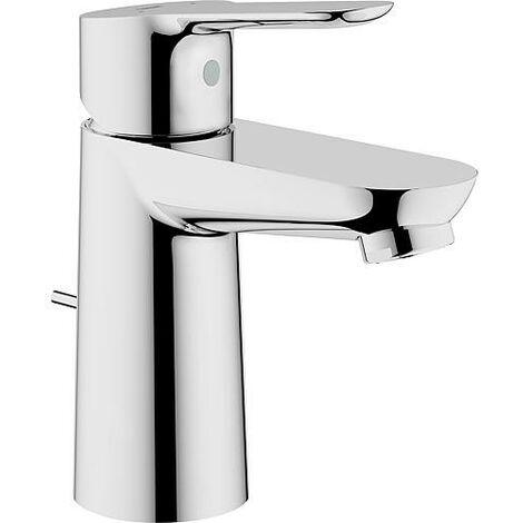 Mitigeur de lavabo Grohe BauEdge avec écoulement/métal, chromé
