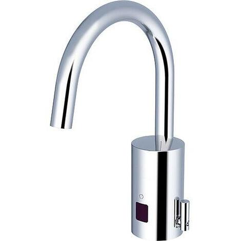 Mitigeur de lavabo Iqua loopino G10, mélangé, chromé, réseau sans vidage
