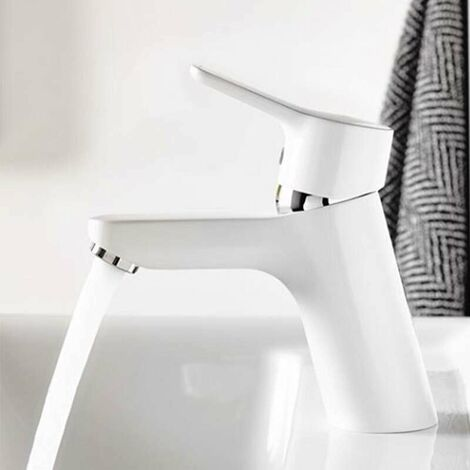Mitigeur de lavabo Kludi Pure & Easy 70 Blanc