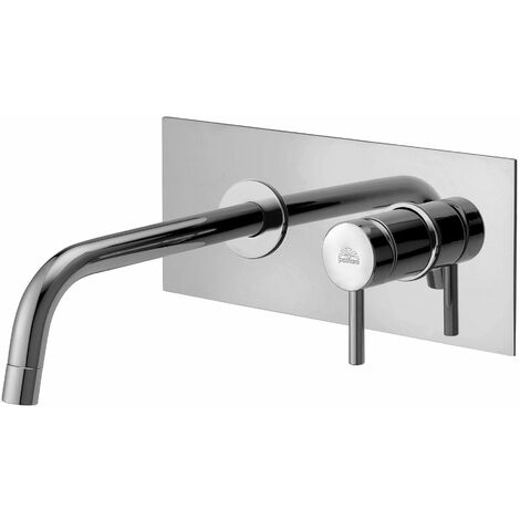 Mitigeur de lavabo a mur encastrer Paffoni LIGHT LIG101/M - LIG103/M | Chromé - 175 mm