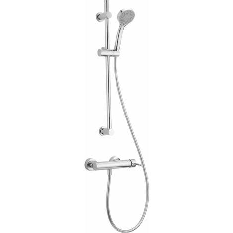Mitigeur douche avec Ensemble de douche Huber Iris PJA0046021   Chromé
