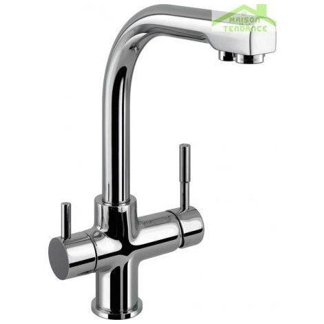 Mitigeur évier SEINA avec séparateur d'eau potable et d'usage