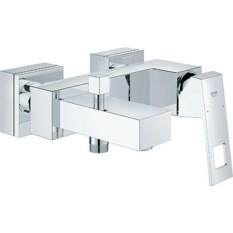 Mitigeur GROHE monocommande 15 x 21 pour bain-douche EUROCUBE chrome ref. 23140000