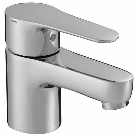 Mitigeur lavabo avec flexibles d'alimentation et vidage métallo-plastique JULY