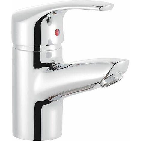 Mitigeur lavabo, avec garniture de vidage à tirette Ascona