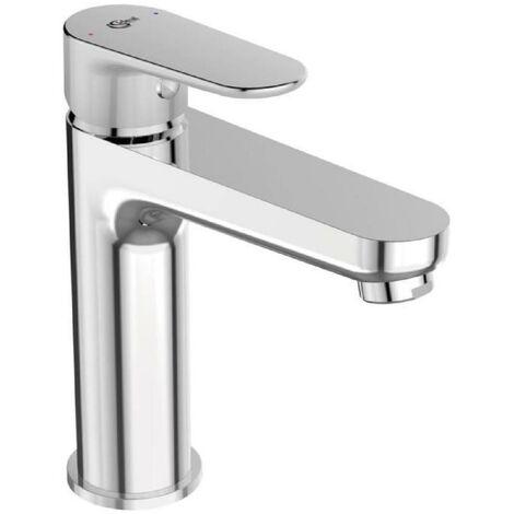 Mitigeur lavabo avec tirette et vidage bonde métal TYRIA - Chrome - Ideal Standard