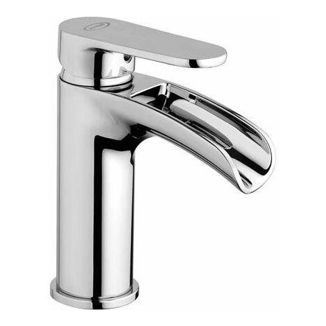 Mitigeur lavabo bec cascade Jacuzzi Alba 0LB00079JA00 | Chromé ...