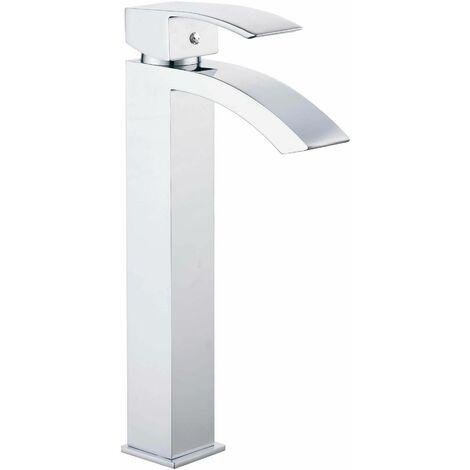 Mitigeur lavabo ‡ bec haut Marina - 31 cm
