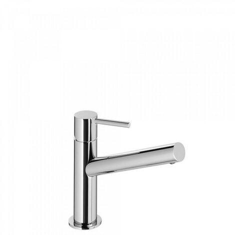 Mitigeur lavabo bec long avec vidage automatique Chromé MAX TRES - TRES 06220301D