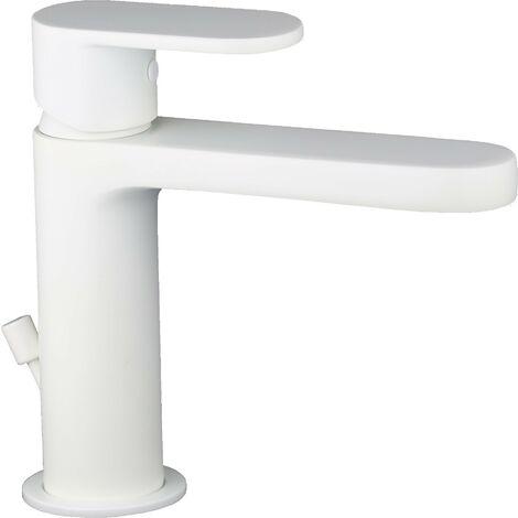 Mitigeur lavabo blanc mat Ponsi Versilia BTVERWLA01 | Blanc mat