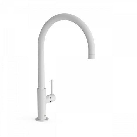 Mitigeur lavabo Blanc Mat STUDY COLORS - TRES - 26290401BM