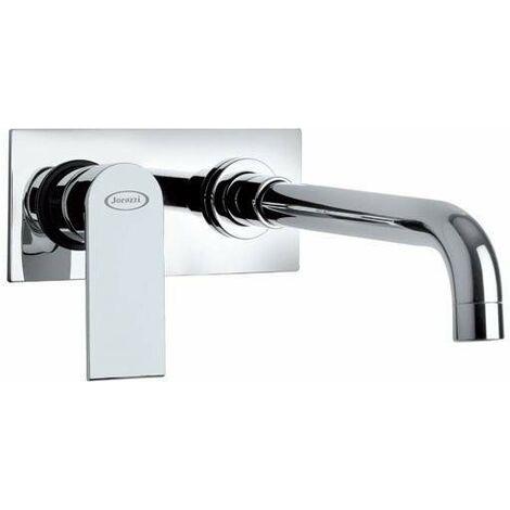 Mitigeur lavabo encastré jacuzzi Rubinetteria Twilight 0TI00497JA03   Chromé