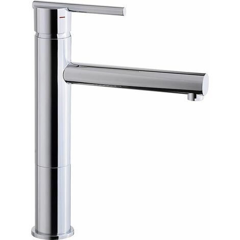 Mitigeur lavabo Evelia chromee sans garn. d ecoulement, Sailie 170 mm,Hauteur 271mm