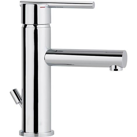 Mitigeur lavabo Evelia chromee,sans garniture d ecoulement, Saillie 118mm