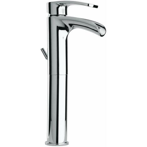 """Mitigeur lavabo type haut Paini Ovo 86CR211LLWFSSSR   Chromé - Vidage clic clac 1""""1/4"""