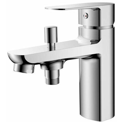Mitigeur mecanique bain/douche sur gorge Concerto'D C2 corps en laiton ALTERNA, Ref.70.3500/ALT
