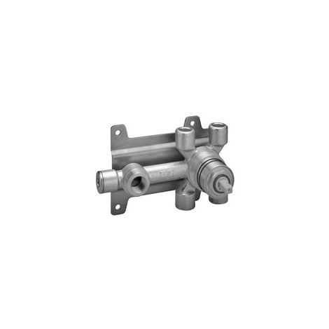 Mitigeur monocommande de douche encastré Dornbracht, mitigeur droit, kit prémonté, 35006970 - 3500697090