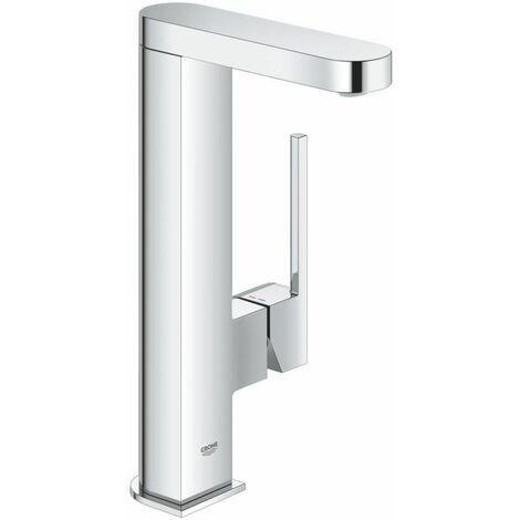 Mitigeur monocommande de lavabo GROHE Plus, DN 15 L, avec vanne d'évacuation Push-Open verrouillable, chromé - 23844003