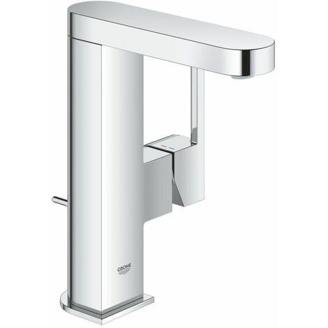 Mitigeur monocommande de lavabo GROHE Plus, DN 15 M, avec vidage automatique, Coloris: acier super - 23871DC3
