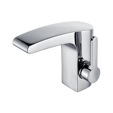 Mitigeur monocommande de lavabo Keuco Elegance 51602, avec garniture de vidage, chromé - 51602010000