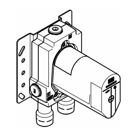 Mitigeur monocommande Dornbracht UP avec dispositif de sécurité, kit de prémontage 35021970 - 3502197090