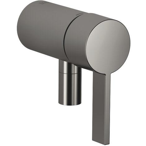 Mitigeur monocommande encastré Dornbracht avec raccord douche intégré, 36050970, Coloris: blanc mat - 36050970-10