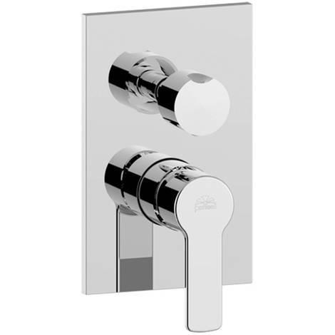 Mitigeur pour douche 3 voies à encastrer RED019CR Paffoni | chrome