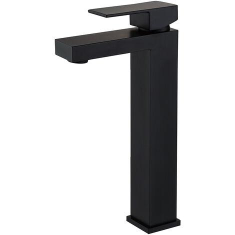 Mitigeur pour vasque design avec une finition noir