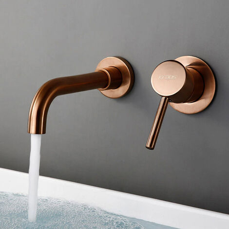 Mitigeur pour vasque en laiton cascade Cetus