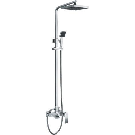 Mitigeur rabattable pour colonne de douche en laiton