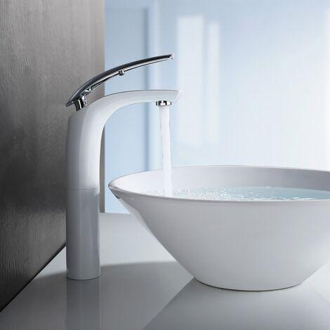 mitigeur robinet de lavabo pour vasques poser bec haut. Black Bedroom Furniture Sets. Home Design Ideas