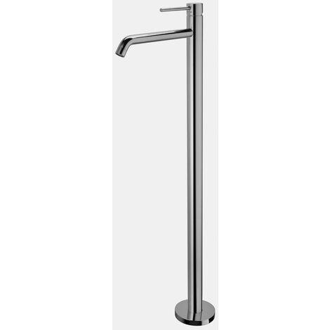 mitigeur sur colonne pour lavabo sur le sol Paffoni LIGHT LIG031 | Chromé - mécanique