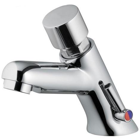 Mitigeur temporisé pour lavabo à poussoir Idral 08212