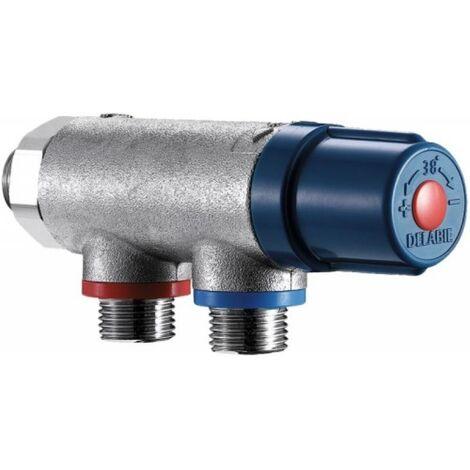 Mitigeur thermostatique centralisé Premix Compact mâle 15x21 733015